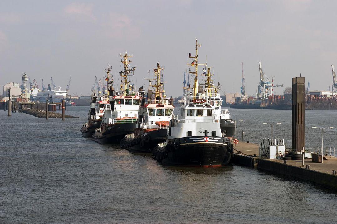 Schlepper im Hamburger Hafen Fotograf Peter Vogel Hamburg