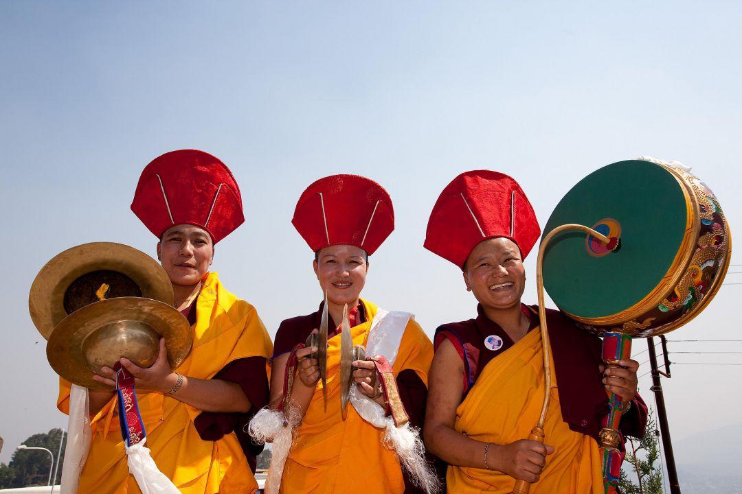 Mönche in Nepal. Peter Vogel. Fotografie.