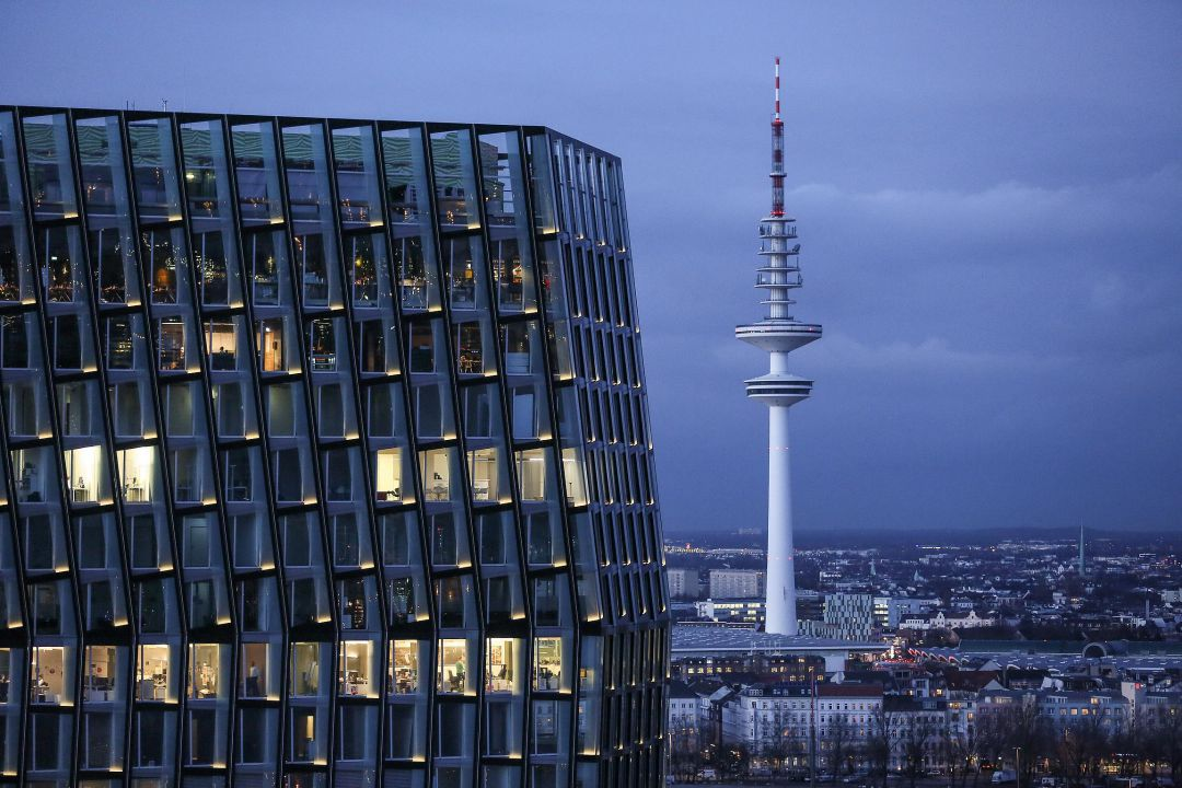 Hamburg am Abend. Peter Vogel. Fotografie.