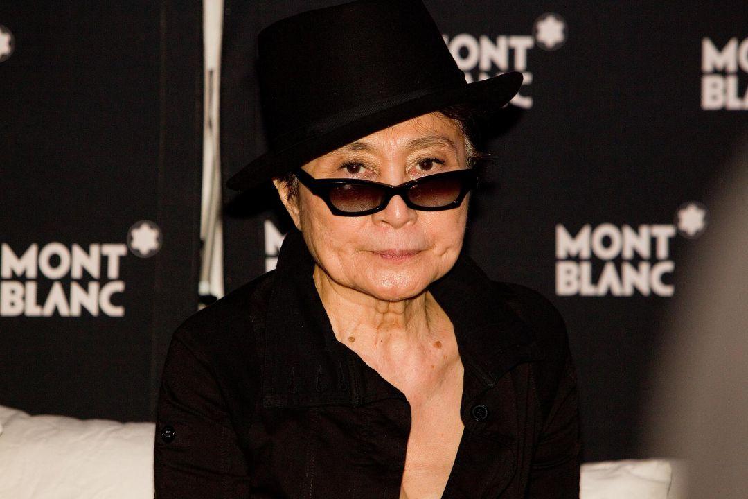 Yoko Ono vom Event Fotograf Peter Vogel Hamburg